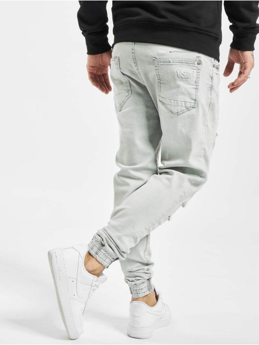 VSCT Clubwear Antifit-farkut Noah Cuffed Sunfaded harmaa