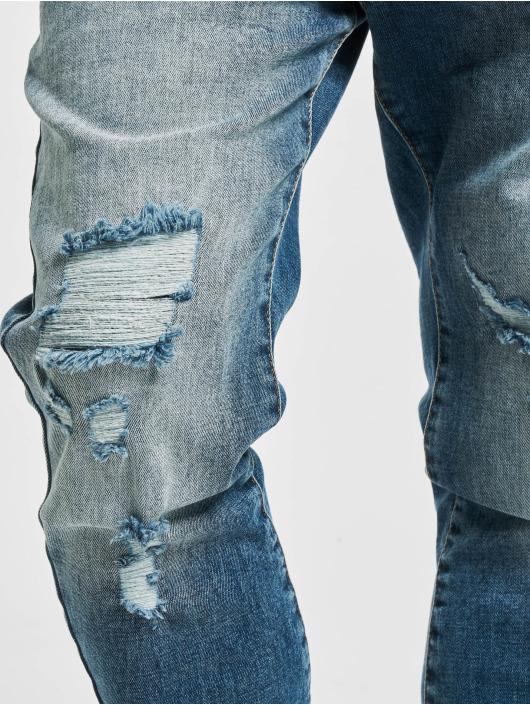 VSCT Clubwear Antifit-farkut Noah Cuffed Darkblue Random sininen