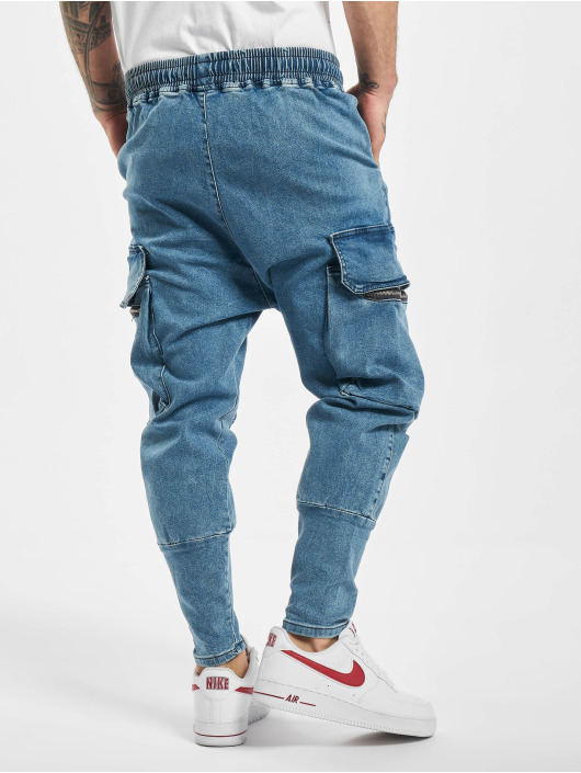 VSCT Clubwear Antifit jeans Logan blå
