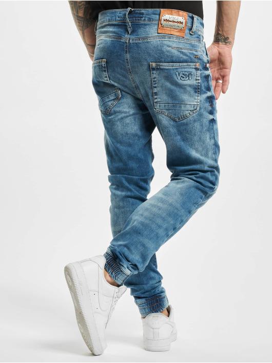 VSCT Clubwear Antifit Noah Acid Cuffed Denim modrá