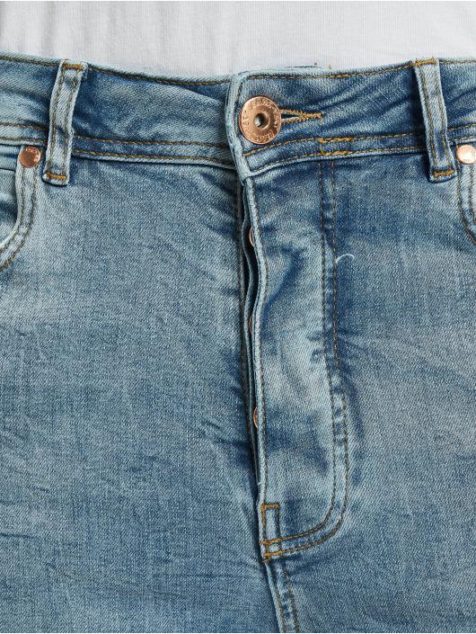 VSCT Clubwear Antifit Thor Slim 5 Pocket Destroyed niebieski