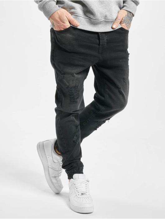 VSCT Clubwear Antifit Noah Cuffed Sunfaded schwarz