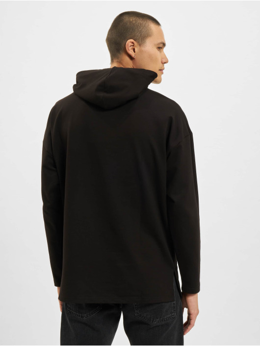 VSCT Clubwear Bluzy z kapturem Hooded Bulky czarny