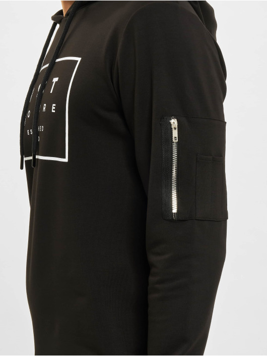 VSCT Clubwear Bluzy z kapturem Logo Couture czarny