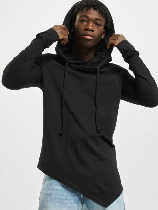 VSCT Clubwear Bluzy z kapturem Hooded czarny