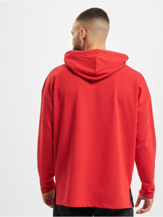 VSCT Clubwear Bluzy z kapturem Hooded Bulky czerwony