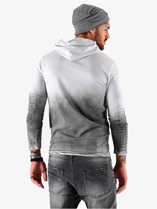 VSCT Clubwear Bluzy z kapturem Biker szary
