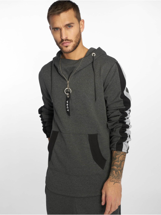 VSCT Clubwear Bluzy z kapturem Racer szary