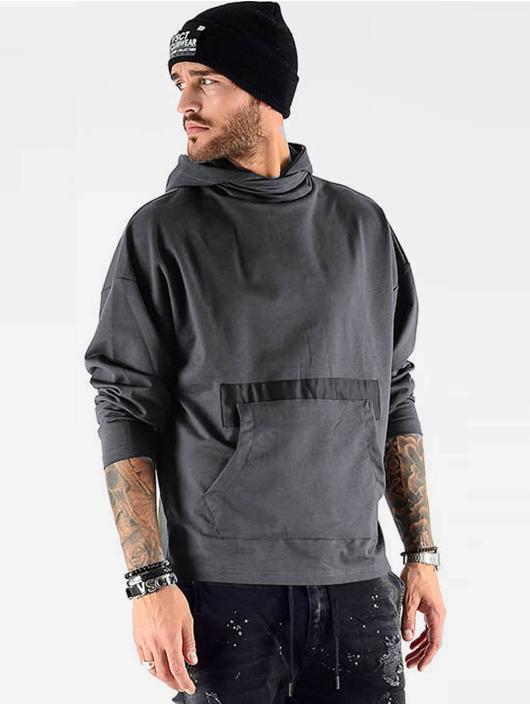VSCT Clubwear Bluzy z kapturem Hooded Bulky szary
