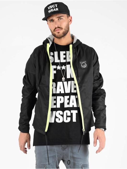 VSCT Clubwear Bundy na přechodné roční období Conzraast Neon Zipper čern