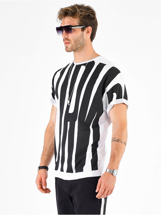VSCT Clubwear Camiseta Letter Logo Turn blanco