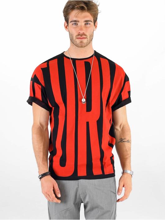 VSCT Clubwear Camiseta Letter Logo Turn negro