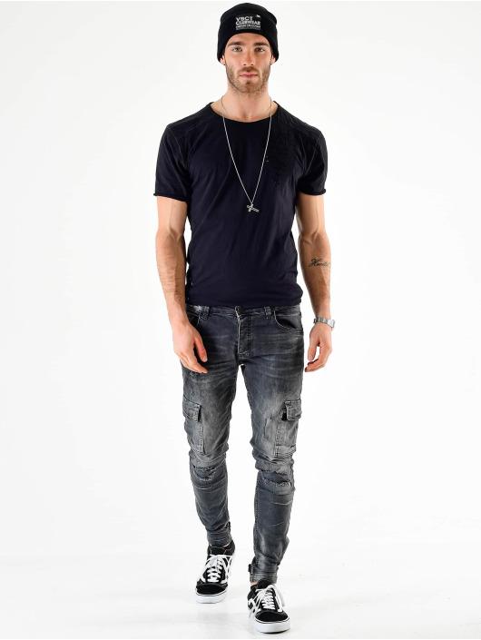 VSCT Clubwear Cargo Knox Adjust Hem Denim šedá