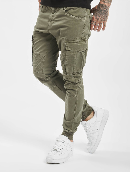 VSCT Clubwear Cargo Noah Cuffed khaki