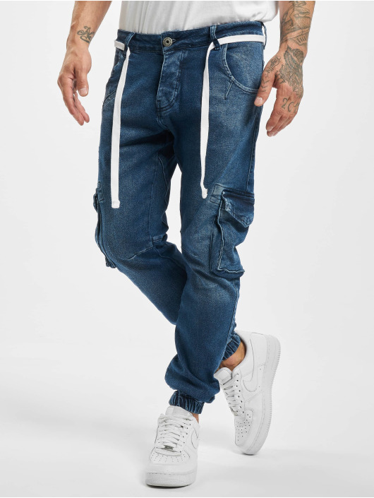 VSCT Clubwear Cargo Noah Denim modrá
