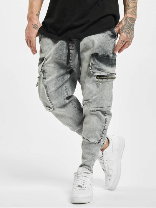 VSCT Clubwear Cargo pants Logan Antifit Denim gray