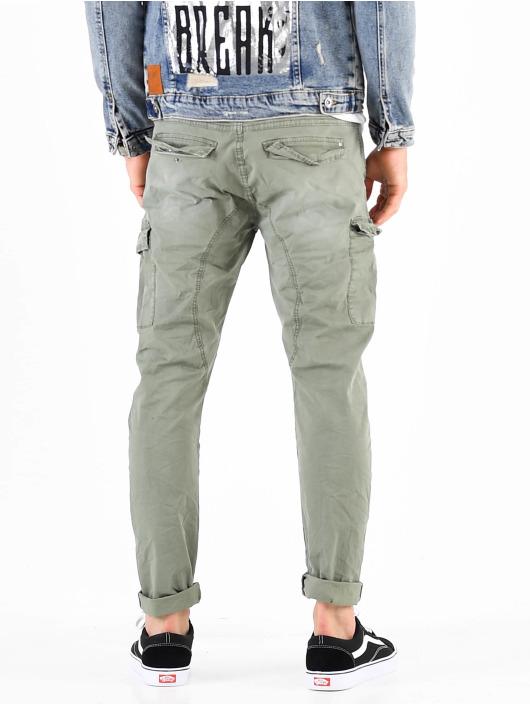 VSCT Clubwear Cargo pants Spencer hnědožlutý
