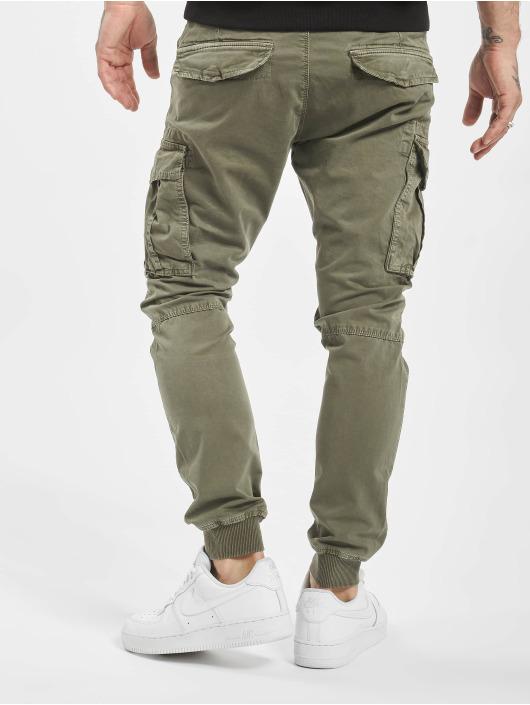 VSCT Clubwear Cargo pants Noah Cuffed hnědožlutý
