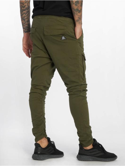 VSCT Clubwear Cargo pants Noah Gathered Leg khaki