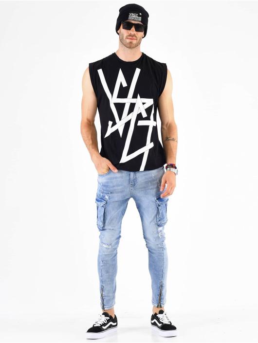 VSCT Clubwear Cargo pants Keanu modrý