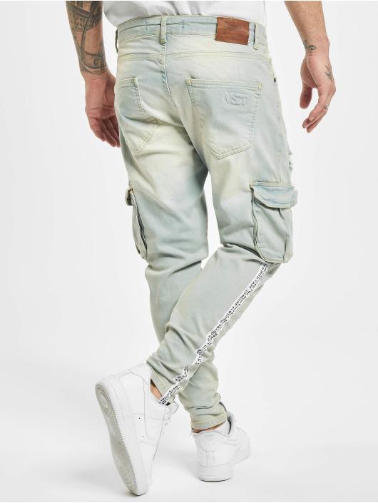 VSCT Clubwear Cargobroek Keanu Legbtmzip blauw