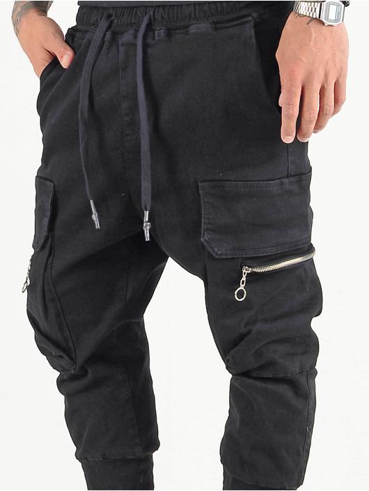 VSCT Clubwear Cargobroek Logan zwart