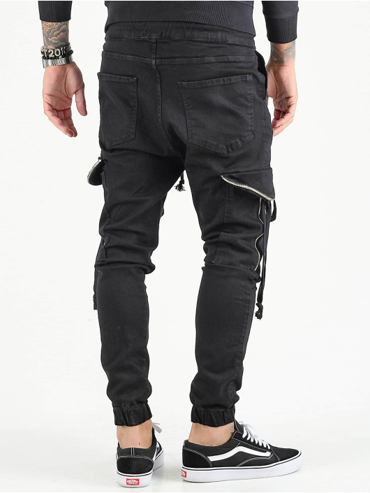 VSCT Clubwear Cargobroek Noah zwart