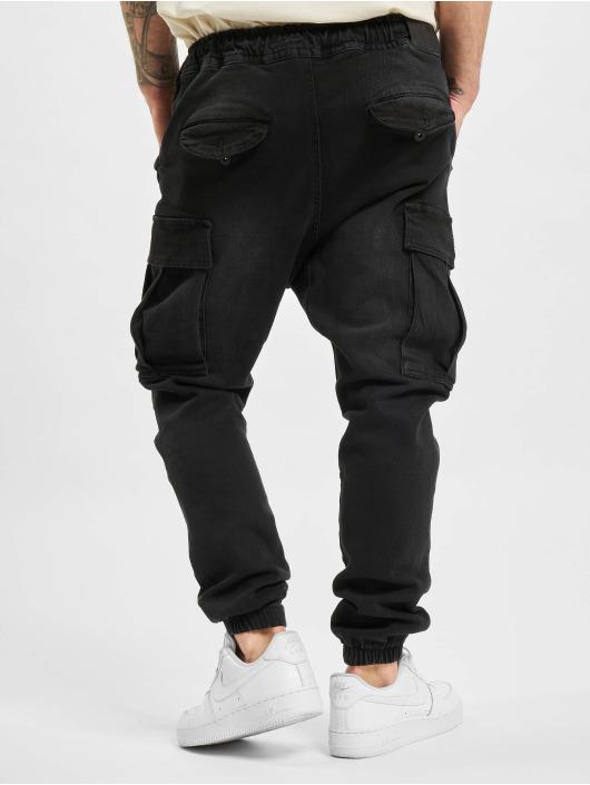 VSCT Clubwear Cargobroek Norman Baggy Cargo zwart