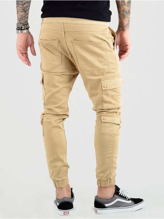 VSCT Clubwear Cargohose Nexus Straight Cuffed beige