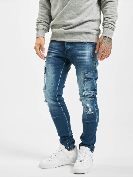 VSCT Clubwear Cargohose Clubwear Knox Adjust Hem blau