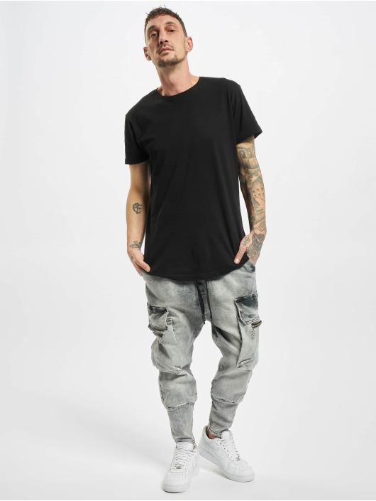VSCT Clubwear Cargohose Logan Antifit Denim grau