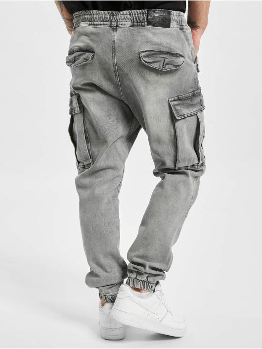 VSCT Clubwear Cargohose Norman Baggy grau