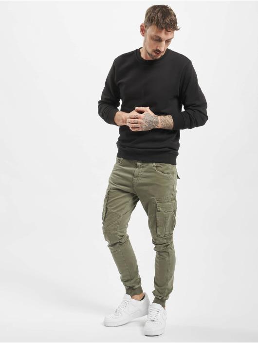 VSCT Clubwear Cargohose Noah Cuffed khaki
