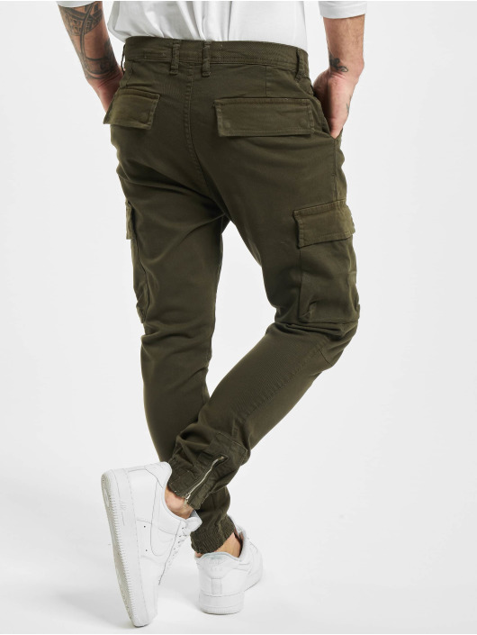 VSCT Clubwear Cargohose Norton Baggy Gargo khaki