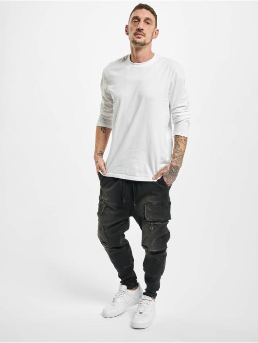 VSCT Clubwear Cargohose Logan Antifit Denim schwarz