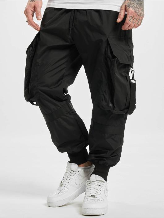 VSCT Clubwear Cargohose Jupiter Baggy schwarz