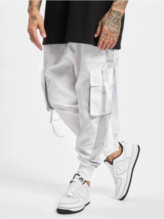 VSCT Clubwear Cargohose Clubwear Pluto Colour weiß