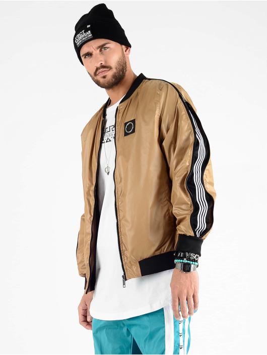VSCT Clubwear Chaqueta de entretiempo Luxury Sleeve Zipper marrón