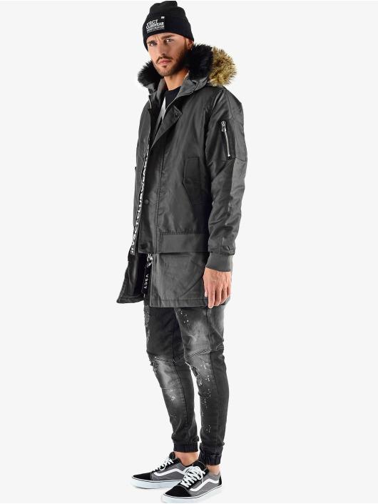 VSCT Clubwear Chaqueta de invierno 2 In 1 Assasin negro