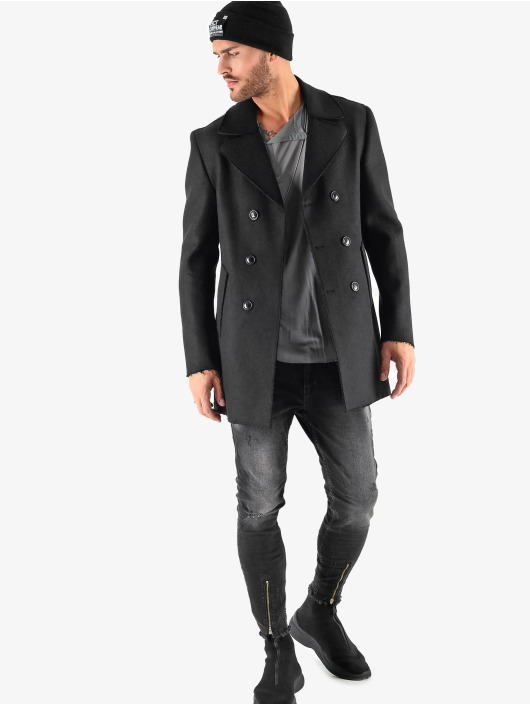 VSCT Clubwear Chaqueta de invierno Sophisticated 2 BtnRows negro