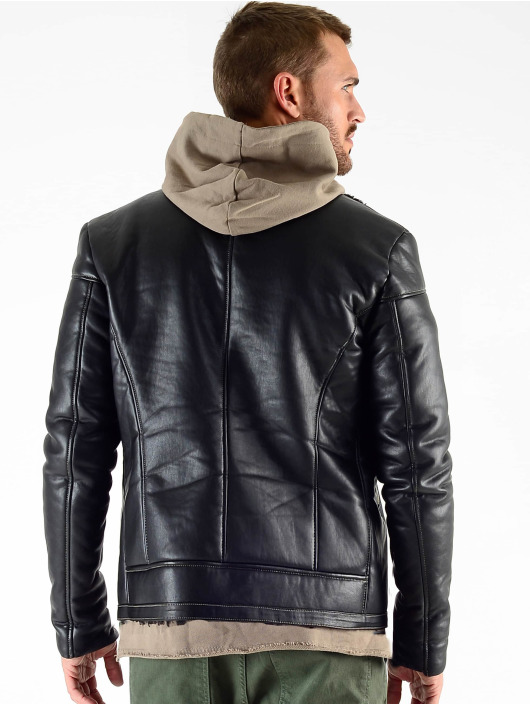 VSCT Clubwear Chaqueta de invierno Sheepskin negro