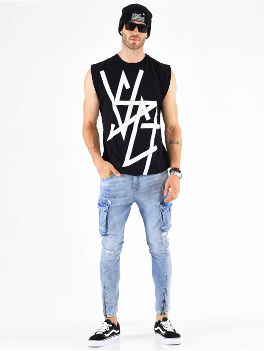 VSCT Clubwear Chino bukser Keanu blå