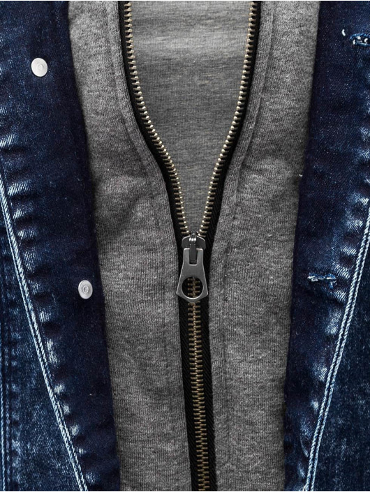 VSCT Clubwear Džínová bunda Hybrid Denim modrý