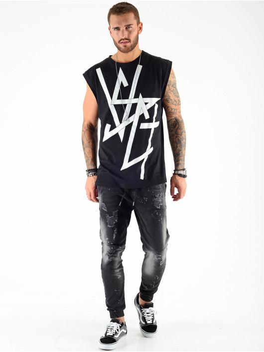 VSCT Clubwear Débardeur Sharp Logo Sleeveless noir