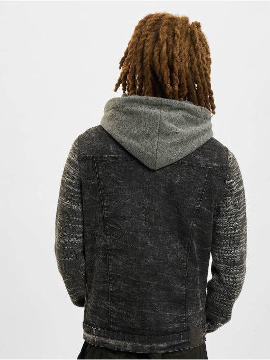 VSCT Clubwear Denim Jacket Hybrid Denim black