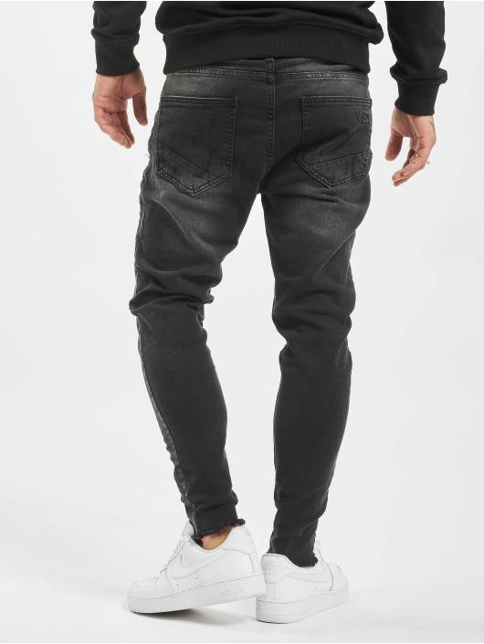 VSCT Clubwear dżinsy przylegające Keanu czarny