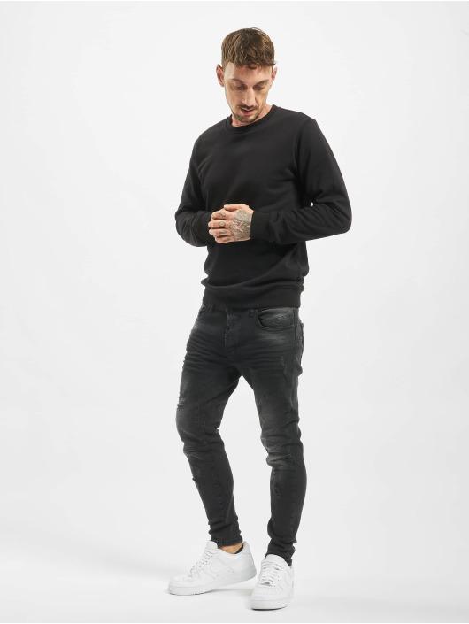 VSCT Clubwear dżinsy przylegające New Keanu-Spencer Hybrid czarny