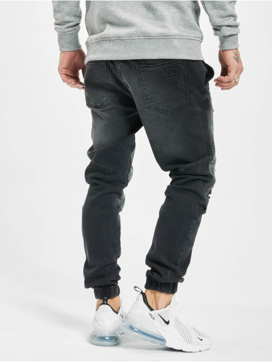 VSCT Clubwear dżinsy przylegające Noah czarny