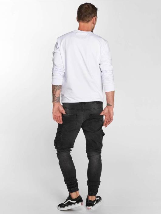 VSCT Clubwear dżinsy przylegające Noah Cargo Expedited czarny