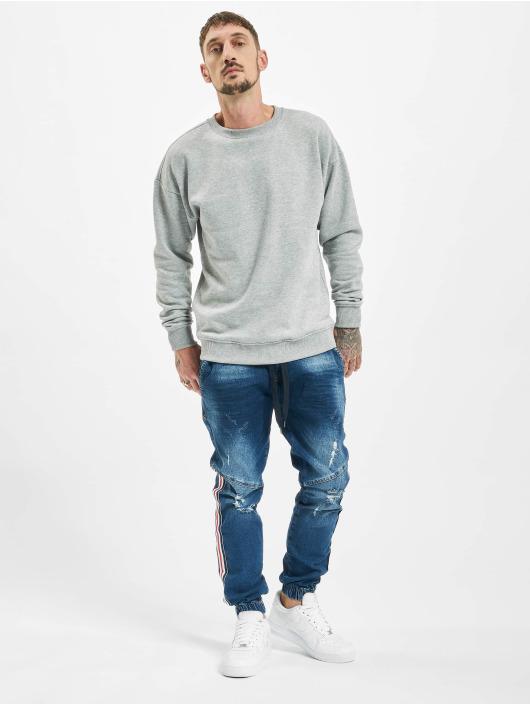 VSCT Clubwear dżinsy przylegające Noah Slim Racer Tape niebieski